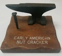 Vintage Nut Cracker, Albert S. Price Inc. Copy Right 1974, Iron and Wood