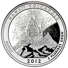 Stati Uniti  serie Park Quarter 2012 Hawaii Volcanoes Hawaii zecca San Francisco
