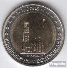 BRD (BR.Duitsland) Jägernr: 534 2008 F Stgl./ongecirculeerd 2008 2 Euro Hamburge