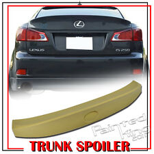 Unpainted For LEXUS W Type IS250 IS350 IS300h IS250 F ABS Trunk Spoiler Wing