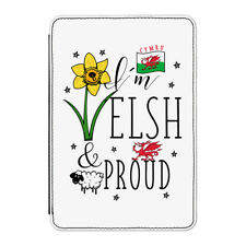 "I'm Welsh And Proud Case Cover for Kindle 6"" E-reader - Wales Rugby Flag"