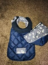 Maisie-Moo size Small Waterproof Dog Coat Polycotton lined handmade length 30cm
