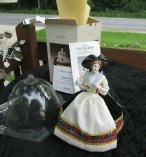 Madame Depont Goebel Germany Tea Cozy Pincushion Porcelain Half Doll with Box-co