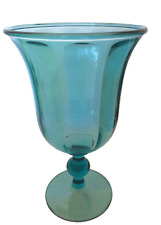 Plastic Wine Glasses Blue Clear Acrylic Wine Glasses or Water Goblets 15 oz Pk 4