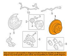 TOYOTA OEM 09-13 Matrix Rear Brake-Rotor 4243102210
