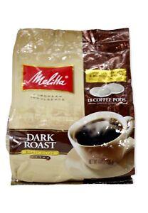 Melitta 75449 Soft Coffee Pods-Dark Roast (Single Pack) Soft Coffee Pods Dark