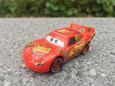 Mattel Disney Pixar Cars Cactus Lightning McQueen Metal Toy Car New Loose