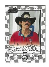 1997 Action Packed Fifth Anniversary AUTOGRAPH #FA1 Richard Petty BV$40! SWEET!
