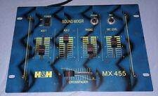 dj mixer mischpult H&H MX455