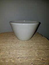 """Vintage Fire King Splash Proof Oven Ware White Mixing Bowl 7"""" x 5"""""""