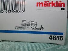 Märklin 4866 Schwerlastwagen mit Kaelble Zugmaschine unbespielt in OVP
