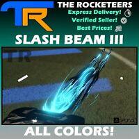 [PS4/PSN] Rocket League Every Painted SLASH BEAM III Rocket Pass III Boost