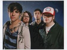 Fall Out Boy autografi FULL SIGNED 20x25 cm immagine