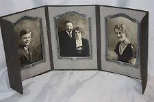 Vintage Cabinet Photos - Parents & Children Set of 3 Morrau Studios Kenmare ND