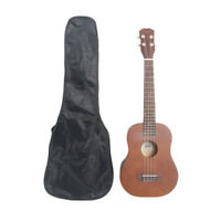 "26"" Rosewood Fingerboard Basswood Tenor Ukulele with Bag Brown"
