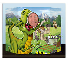 Dinosaur Photo Prop T-Rex Dino Birthday Party Fun Decoration Pictures