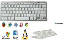 Tastiera Bluetooth Keyboard Slim Wireless per Apple iMac Macbook iPhone iPad