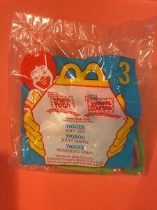 1999 Mcdonalds Happy Meal Toy Winnie The Pooh #3 Tigger NIP