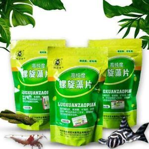 Fish Food Spirulina Catfish Tropical Veggie Algae Wafers L0Z1 O2W7 Biomass M4B3