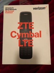 Verizon ZTE Cymbal LTE Verizon Flip Phone 4G 1500 mAh Prepaid and Postpaid