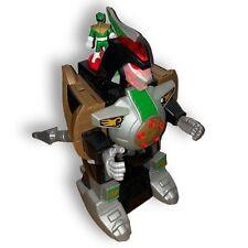 Power Rangers Dragonzord Mighty Morphin Green Ranger Mattel Imaginext 2015 Works