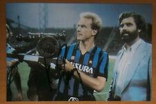 AUTOGRAFO Karl-Heinz Rummenigge INTER FC BALLON OR AUTOGRAMM HAND SIGNED FOTO