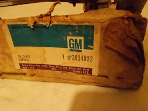 GM NOS 3934832 C10 Truck Chevy Chevrolet Heater Control 3 Levers Non-air 67-72