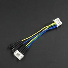 PWM 4pin to 2x 4pin VGA GPU Card Cooling Fan Convert Connector Extension Cable