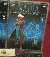 1 DVD MANGA STUDIO GAINAX ANIME ANNI 90,NADIA IL MISTERO DELLA PIETRA AZZURRA 4