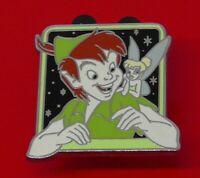 Used Disney Enamel Pin Badge Mickey Peter Pan & Tinker Bell Characters 2013