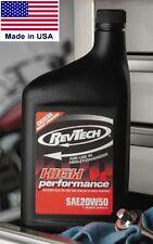 Aceite Revtech mineral 20w50 para Harley-Davidson 1q (946ml)