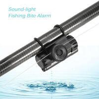 Professional Fishing Alarm Alerts Bite Audio Visual Alerts for Fishing Rod Q4A9