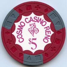 Cosmo Club Casino, Reno - $5 Chip - 1970