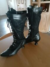 Steam Punk Victorian Women's Boots Size 10