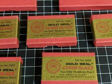 Gold Seal COVER GLASS 3328 microscope slide slips 35x60mm lab nikon fisher DNA