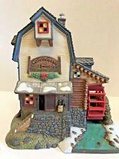 Department 56 Alpine Village Series Getreidemuhle Zwettii Animated Grain Mill