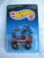 Hot Wheels 1987, Gulch Stepper Red Variation Malaysia Sealed In Card