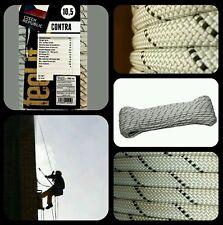 Cuerda escalada semi estatica 10.5mm x 70mts verticales espeleo rappel aventura