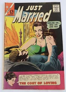 #44 November 1965 Just Married Charlton Comics Vintage Silver Age Book Magazine