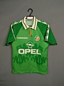 Republic Of Ireland Jersey 1994/96 Size XS / S Shirt Mens Football Umbro ig93