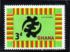 """GHANA #96  1961  3p  """"GYE NYAME""""      MINT  VF NH  O.G"""