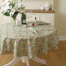 """Tallas 70/"""" X 50/"""" y 68/"""" Redonda Kinsale Floral 100/% algodón Durable Mantel"""