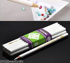 10PCs Rhinestone Pickup Pencils/Tools for Nail Art,Scrapbooking