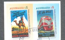 Australia-Trans Australian Railway mfu/cto-2017 set -self-adhesive