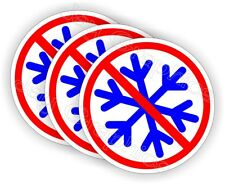(3) No Snowflakes Funny Hard Hat Stickers Helmet Decals Liberal Trump Sissy Boy