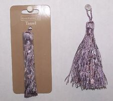 "3 Tassels Light Purple (Lavender) Color Polyester  3-1/2"" New Sewing Craft"
