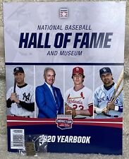 Derek Jeter 20 HOF LOT Souvenir Program & Hall of Fame Lapel Pin New York Yankee