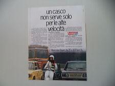 advertising Pubblicità 1975 CASCO MAKROLON BAYER e VESPA