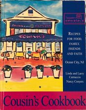 Cousin's Restaurant & Catering Cookbook Ocean City, Nj Signed