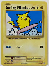 Pokemon TCG Surfing Pikachu 111/108 XY Evolutions Secret Rare Card NM